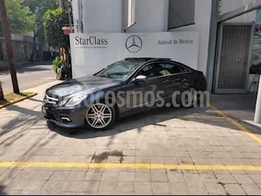 Foto venta Auto usado Mercedes Benz Clase E Coupe 500  (2010) color Gris precio $300,000