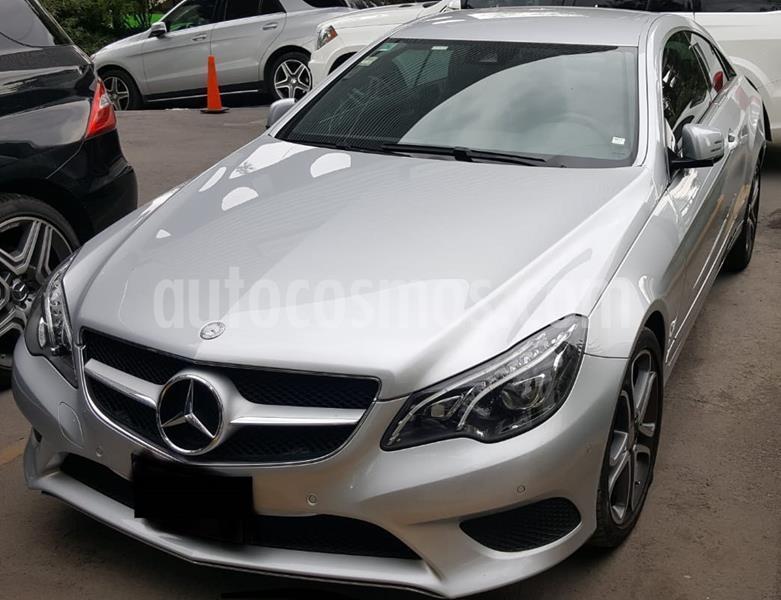 Mercedes Benz Clase E Coupe 250 usado (2014) color Plata Paladio precio $298,000
