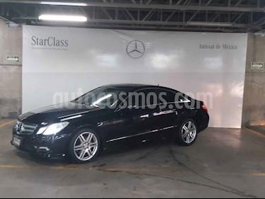 Mercedes Benz Clase E Coupe 350  usado (2010) color Negro precio $249,000