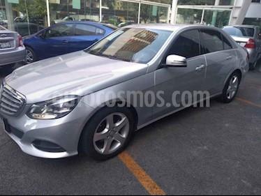 Foto venta Auto usado Mercedes Benz Clase E 200 CGI Exclusive (2014) color Plata precio $259,000