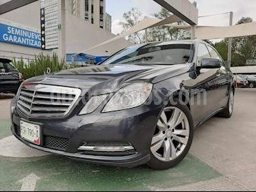 foto Mercedes Benz Clase E 200 CGI Exclusive usado (2012) color Gris Indio precio $215,000