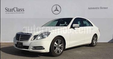 Foto venta Auto usado Mercedes Benz Clase E 200 CGI Exclusive (2013) color Blanco precio $304,900