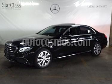 Foto venta Auto usado Mercedes Benz Clase E 200 CGI Exclusive (2017) color Negro precio $579,000