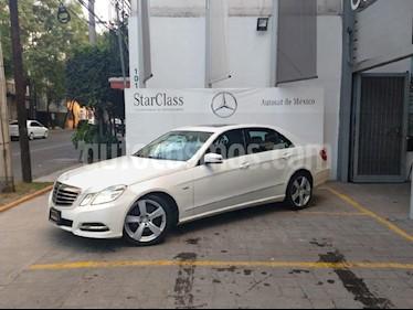 Foto venta Auto usado Mercedes Benz Clase E 250 Avantgarde (2011) color Blanco precio $280,000