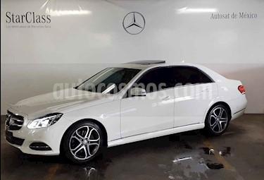 Foto venta Auto usado Mercedes Benz Clase E 250 Avantgarde (2016) color Blanco precio $439,000