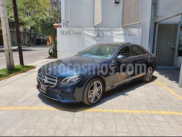 Foto venta Auto usado Mercedes Benz Clase E 250 Avantgarde (2019) color Azul precio $870,000