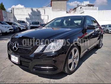 Foto Mercedes Benz Clase E 250 Avantgarde usado (2012) color Negro precio $245,000