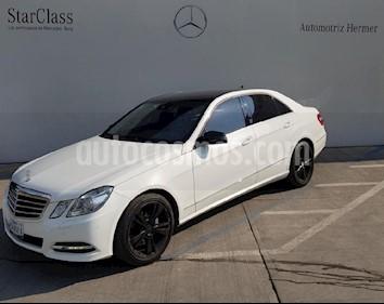 Foto venta Auto usado Mercedes Benz Clase E 250 CGI Avantgarde (2013) color Blanco precio $449,900