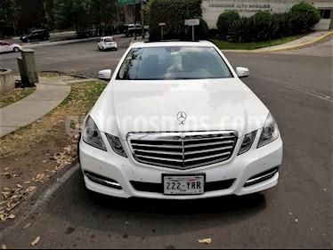 Foto venta Auto usado Mercedes Benz Clase E 250 CGI Avantgarde (2013) color Blanco precio $250,000