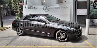 Foto venta Auto usado Mercedes Benz Clase E 250 CGI Convertible (2017) color Negro precio $568,900
