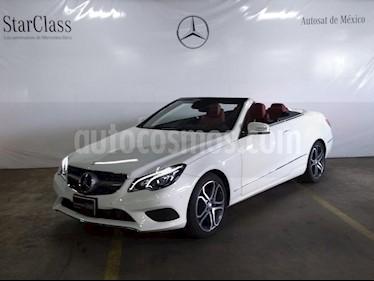 Foto venta Auto usado Mercedes Benz Clase E 250 CGI Convertible (2015) color Blanco precio $549,000