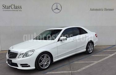 Foto venta Auto usado Mercedes Benz Clase E 350 CGI Avantgarde (2013) color Blanco precio $329,900