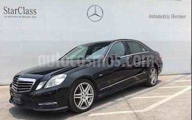 Foto venta Auto usado Mercedes Benz Clase E 350 CGI Avantgarde (2012) color Negro precio $289,900