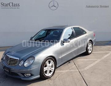 Foto venta Auto usado Mercedes Benz Clase E 350 Sport (2008) color Gris precio $184,900