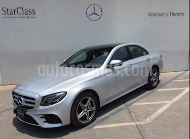 Foto venta Auto usado Mercedes Benz Clase E 400 4MATIC Exclusive (2018) color Plata precio $818,900