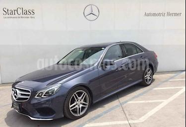 Foto venta Auto usado Mercedes Benz Clase E 400 CGI Sport (2014) color Azul precio $499,900