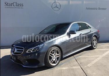 Foto venta Auto usado Mercedes Benz Clase E 400 CGI Sport (2014) color Gris precio $464,900
