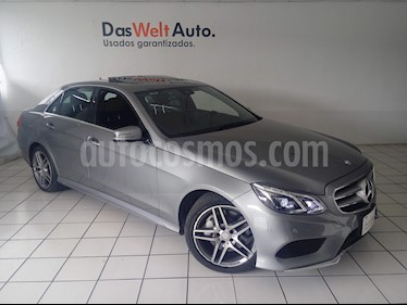 Foto venta Auto Seminuevo Mercedes Benz Clase E 400 CGI Sport (2014) color Plata Paladio precio $449,900