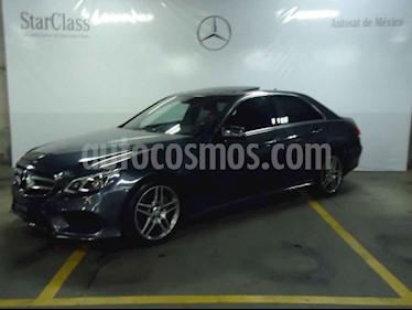 Foto Mercedes Benz Clase E 400 CGI Sport usado (2014) color Gris precio $399,000