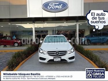 Foto venta Auto usado Mercedes Benz Clase E 400 CGI Sport (2016) color Blanco precio $514,000