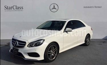 Foto venta Auto usado Mercedes Benz Clase E 400 CGI Sport (2014) color Blanco precio $449,900