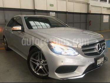 Foto venta Auto usado Mercedes Benz Clase E 4p E 400 V6/3.0/T Aut (2016) color Plata precio $590,000