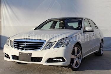 Foto venta Auto usado Mercedes Benz Clase E 500 Avantgarde (2010) color Blanco precio $299,000