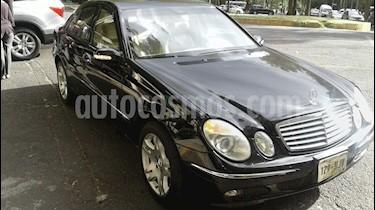 Foto Mercedes Benz Clase E 500 Avantgarde usado (2006) color Negro precio $195,000