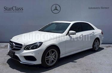 Foto venta Auto usado Mercedes Benz Clase E 500 CGI Biturbo (2014) color Blanco precio $499,900