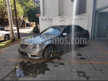 Foto venta Auto usado Mercedes Benz Clase E 63 AMG Biturbo (2013) color Gris precio $698,000