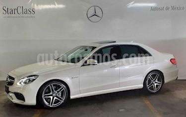 Mercedes Benz Clase E 63 AMG Biturbo usado (2014) color Blanco precio $889,000