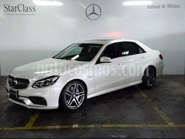 Foto venta Auto Seminuevo Mercedes Benz Clase E 63 AMG Biturbo (2014) color Blanco precio $969,000