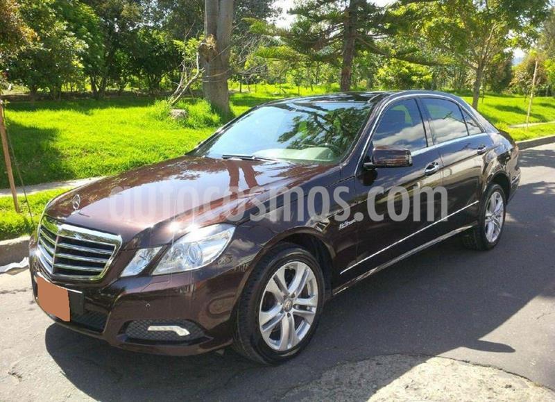 Mercedes Benz Clase E 350 Aut usado (2010) color Marron precio $45.000.000