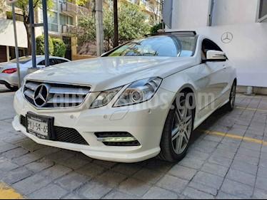 Mercedes Benz Clase E Coupe 350 CGI usado (2013) color Blanco precio $375,000