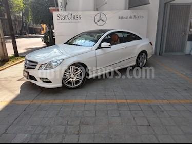 Foto venta Auto usado Mercedes Benz Clase E Coupe 350 CGI (2013) color Blanco precio $438,900