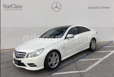 Foto venta Auto usado Mercedes Benz Clase E Coupe 350 CGI (2012) color Blanco precio $354,900