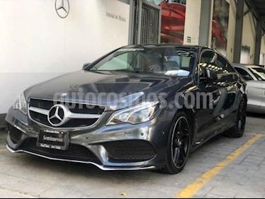 Mercedes Benz Clase E Coupe 400 CGI usado (2014) color Gris precio $410,000
