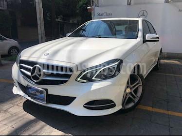 Mercedes Benz Clase E 4p E 250 Avantgarde L4/2.0/T Aut usado (2016) color Blanco precio $365,000