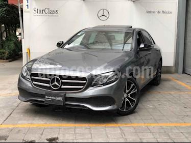 Mercedes Benz Clase E 250 Avantgarde usado (2017) color Gris precio $560,000