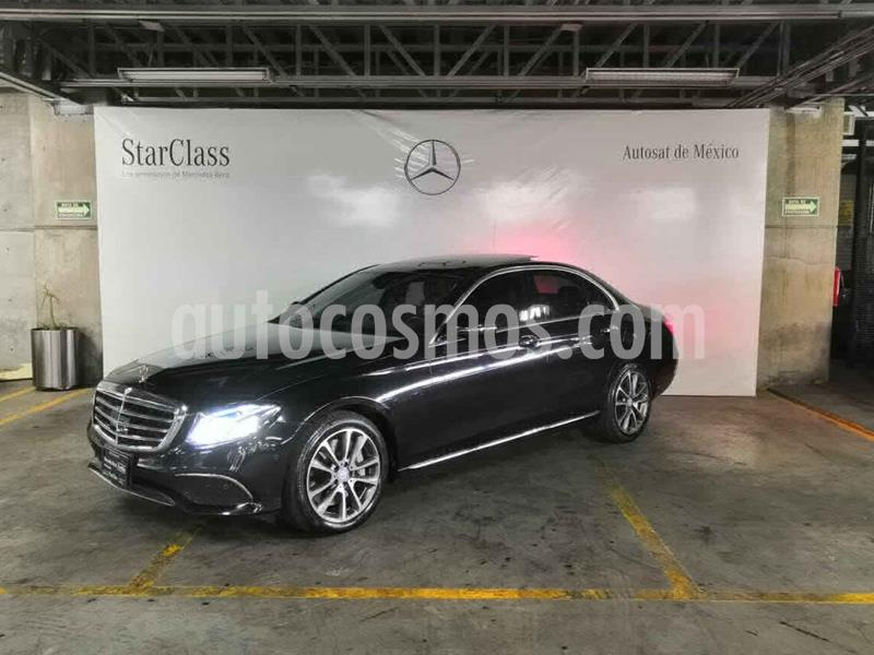 Mercedes Benz Clase E 400 4MATIC Exclusive usado (2017) color Negro precio $699,000