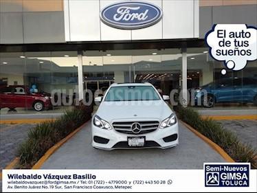 Mercedes Benz Clase E 400 CGI Sport usado (2016) color Blanco precio $449,000