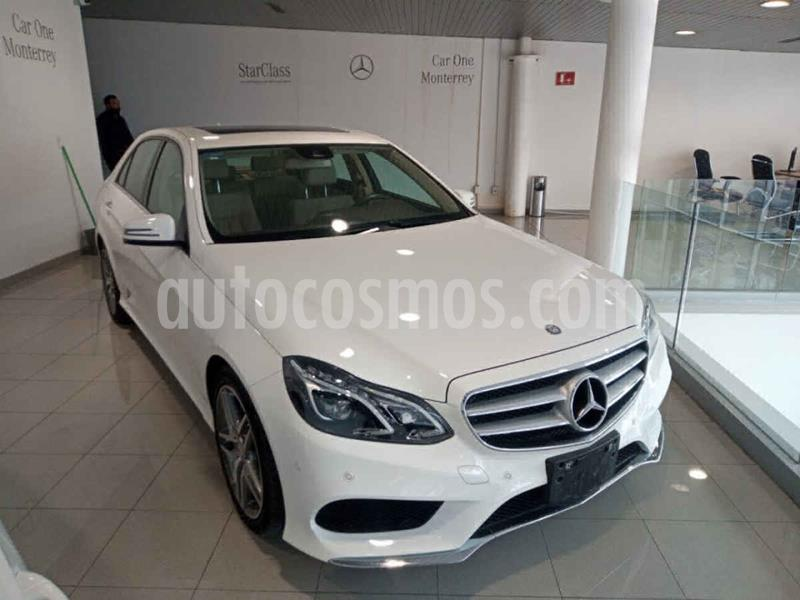 Mercedes Benz Clase E 400 4MATIC Exclusive usado (2015) color Blanco precio $470,000