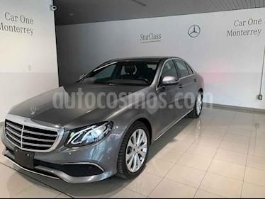 Mercedes Benz Clase E 200 CGI Exclusive usado (2017) color Gris precio $510,000