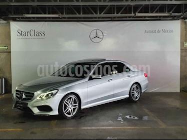Mercedes Benz Clase E 350 Sport usado (2014) color Plata precio $399,000