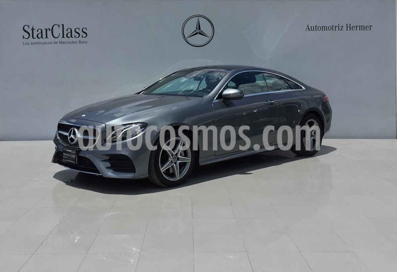 Mercedes Benz Clase E Coupe 400 CGI usado (2018) color Gris precio $799,900