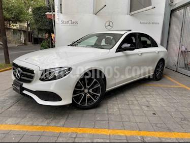 Mercedes Benz Clase E 4p E 250 Avantgarde L4/2.0/T Aut usado (2017) color Blanco precio $560,000