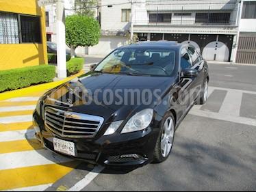 Mercedes Benz Clase E 350 Sport usado (2010) color Negro precio $179,900