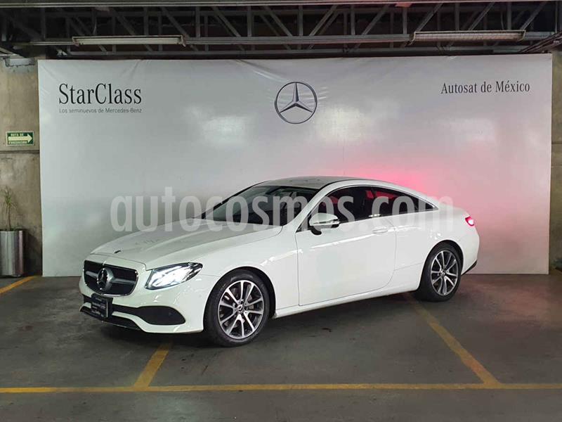 Mercedes Benz Clase E Coupe 300 CGI  usado (2018) color Blanco precio $699,000