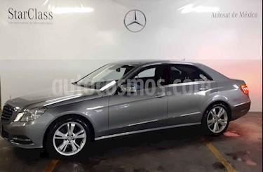 Mercedes Benz Clase E 500 VR4 Blindado usado (2013) color Gris precio $549,000