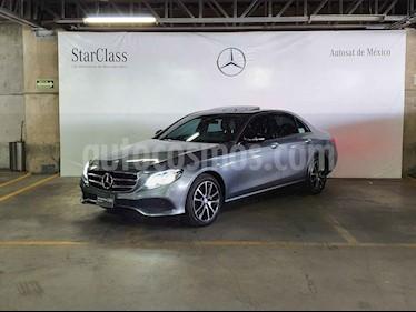 Mercedes Benz Clase E 250 Avantgarde usado (2017) color Gris precio $559,000